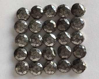 Vintage Nailheads - 5.5 mm  Silver Color
