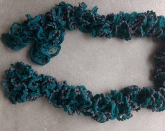 entirely hand made ball scarf