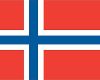 Norway Flag Sticker (norwegian car decal)