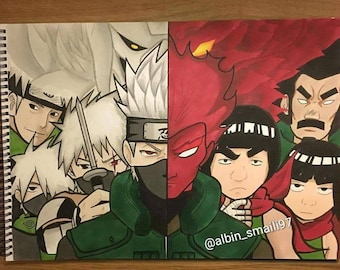 Naruto shippuden artwork