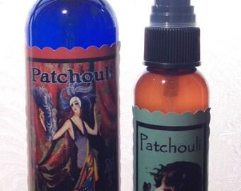 Patchouli Mist - Perfume Spray