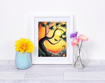 I Am Free Print, INSTANT DOWNLOAD, Whimsical Art Print, Instant Download, Colorful Art, Bedroom Decor