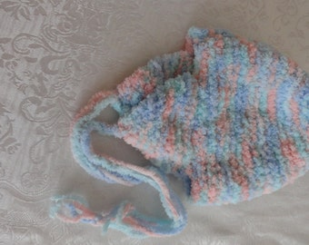 childs hat with ear warmers