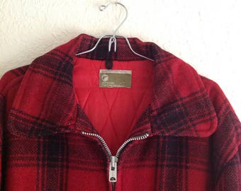 Vintage JCPenny Hunting wool jacket.   Size XL
