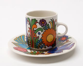 Villeory & Boch Acapulco, Coffee Cup and Saucer