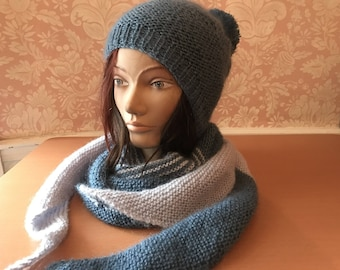 set scarf and hat