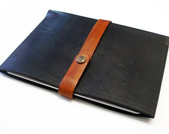 iPad Leather Sleeve - Black