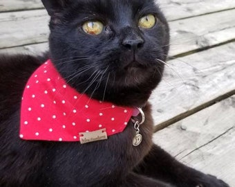 CHIC Bandana for cats & small dogs - over de collar - Made in Canada
