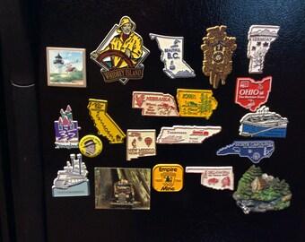 Souvenir State magnets