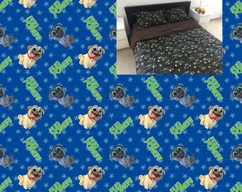Puppy Dog Pals Full Bedding Set Blanket Comforter Fitted Sheet Pillow Case 100% Cotton