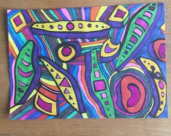 Untitled marker drawing