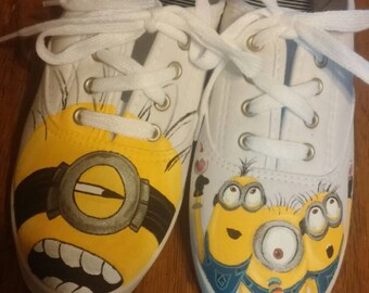 Hand Painted *MADE TO ORDER* Minion Shoes
