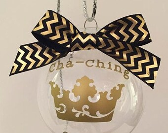 Cha-Ching, Cha-Ching ornament, Seller Gift, Christmas Gift, Christmas ornament, Cha-Ching Gift, Cha Ching, Boss gift, business gift