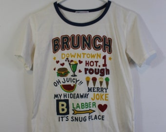 Retro Japanese Brunch Baseball Tee