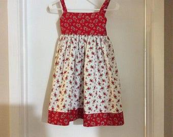 Poinsettia Christmas Dress