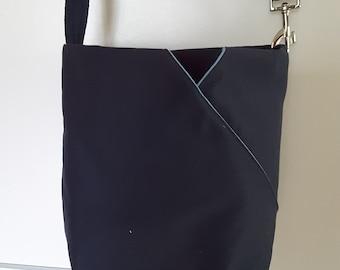 little blue weekend bag