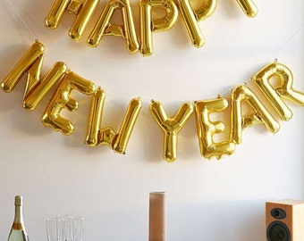 Sale 2017 GLITTER NEW YEAR Numbers Glittered Free Standing