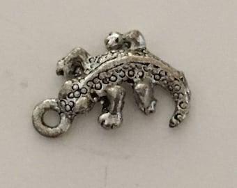 SALAMANDER silver pendant/charm
