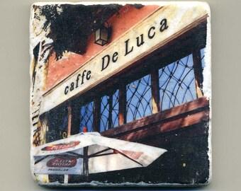 Cafe de Luca in Forest Park, Illinois - Original Coaster
