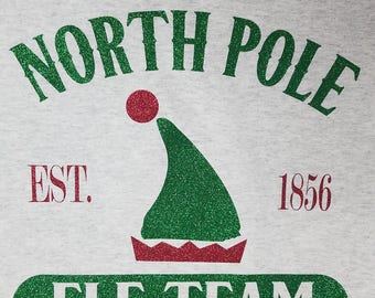 Elf Team/Christmas/North Pole Christmas t-shirt