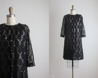 1960s honeycomb dress