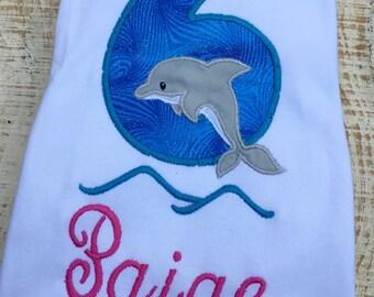 Dolphin Birthday Shirt