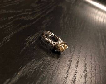 GOLD KNOT RING [Size 7]