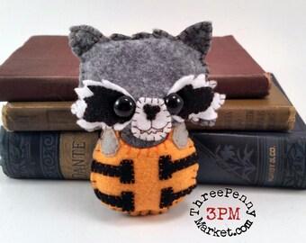 Rocket Raccoon plushie (made to order)
