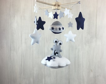 Baby mobile - space mobile - alien mobile - sky mobile - alien nursery