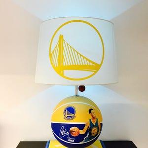 Stephen Curry Lamp, NBA Light, Basketball Light, NBA, Basketball Lamp, Kids