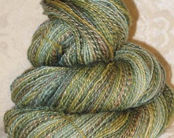 Handspun Yarn - Polwarth Wool, Silk, Mohair