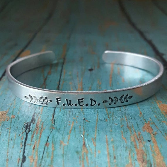 Eating Disorder Recovery Bracelet Fued Motivational