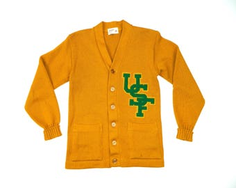 Vintage USF Wool cardigan sweater