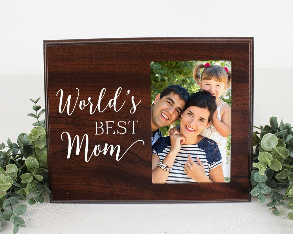 Mama Bild Rahmen Welten beste Mama