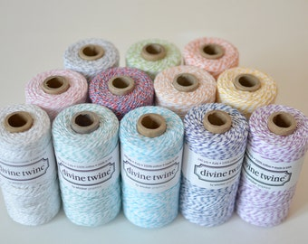 Bakers Twine 10 Yard Sample (Divine Twine)