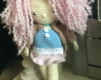 Roxi, Crochet Doll, Amigurumi