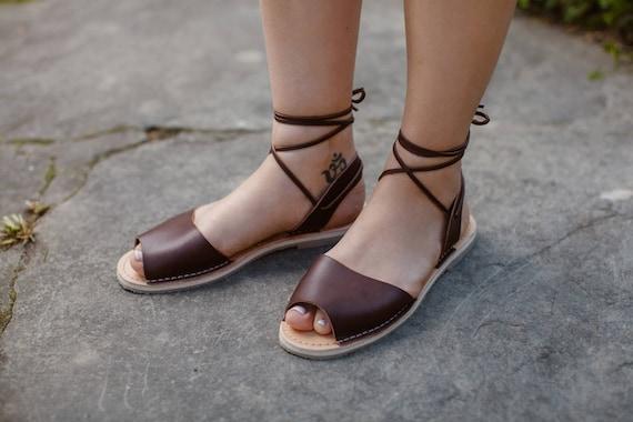 581ec1d92c9a2b ... Sandals Up Gladiators Shoes Gladiator Lace Gladiator Brown Wrap Sandals  Summer Sandals Up Sandals Leather Women ...