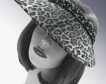 Snow Leopard Sun visor
