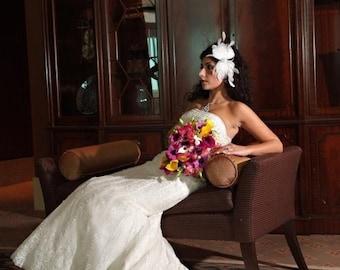 Fascinator Feather Bridal Headpiece Hair Comb Cocktail Hair Accessories Best Bridal Headpiece