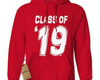 Class of 2019 Adult Hoodie Sweatshirt