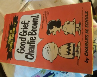 1963 two in one  charlie brown and peanuts paperback book