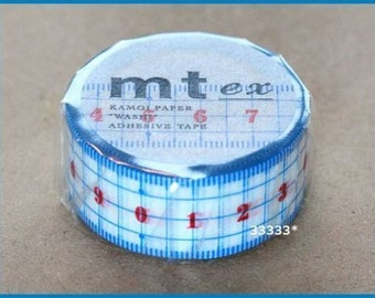 New!! mt masking tape ruler washi paper made in Japan Japanese