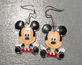 Mickey Mouse Earrings, 2 styles