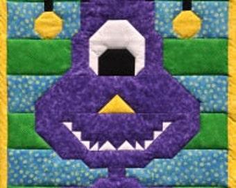 ALIEN Quilt Pattern