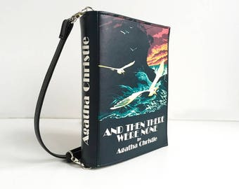 Agatha Christie Book Clutch And Then There Were None Book Clutch