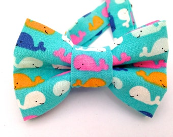 Whale bow tie, boy bow tie, adjustable bow tie, kids bow tie, adjustable whale tie, adjustable whale, whale bow ties, child whale bow tie,