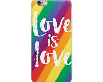 Lgbt Heart LGBTQ Pride Case - gay, lesbian, iPhone 6 case, iPhone 7 case, iPhone 8 case, iPhone X case, iPhone 6s case, iPhone 8 Plus case
