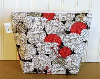 Knitting Project Bags SM