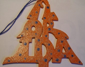 Florida ornament, tree shaped