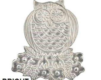 Dorabeth Pendant - Owl - Antique or Bright (Ari Collection)